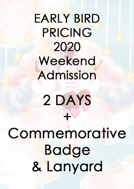 2020 Weekend Admission - EB1
