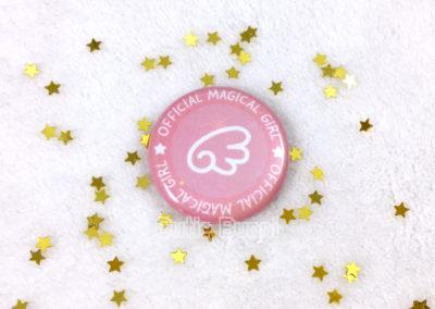 Cutie Bunni Magical Girl Buttons